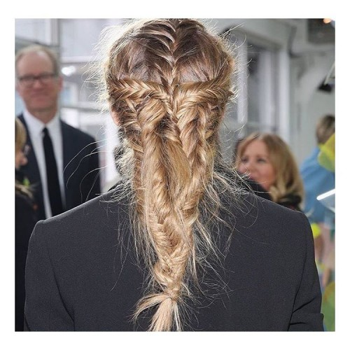 Cage Braids with Fishtail