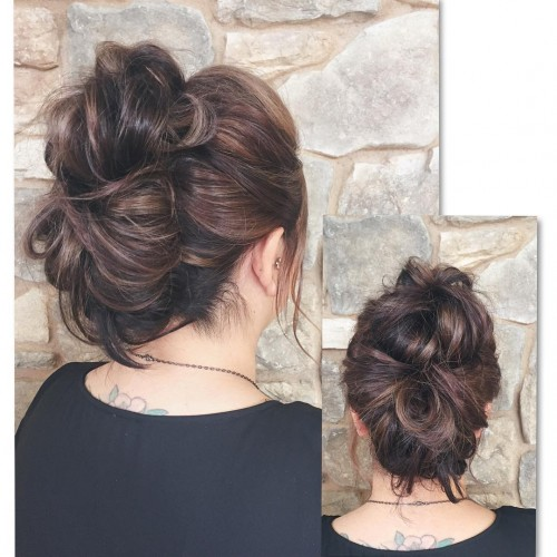 Curly Braided Mohawk