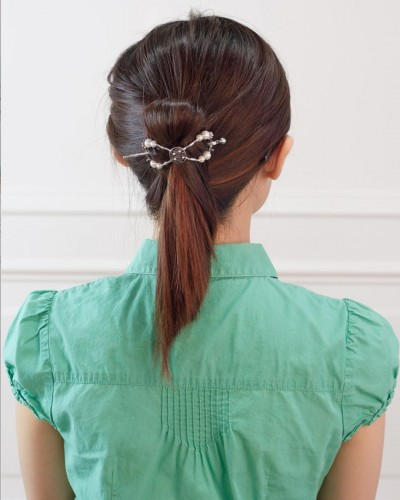 Fancy Flexi Clip Updo