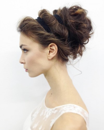 Loose and Messy Updo