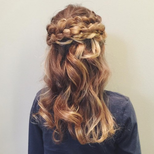 Pretty Locks with a Crown