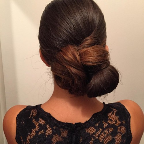 Romantic Low Bun