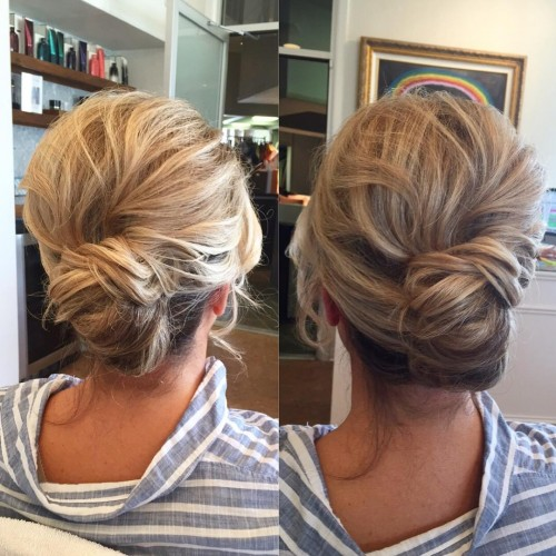 Textured French Twist