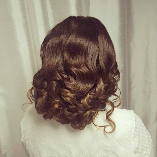The Curly Updo