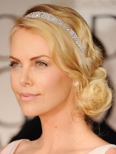 Charlize Theron Braids of Glory