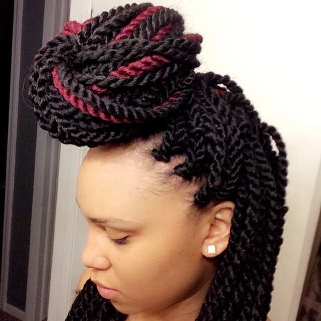 Crochet Braids Elegance : 55 Dazzling Senegalese Twist Styles - Best for Natural Hair