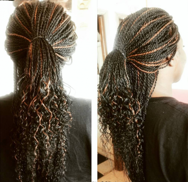 Elegant Twists with Curly Ends