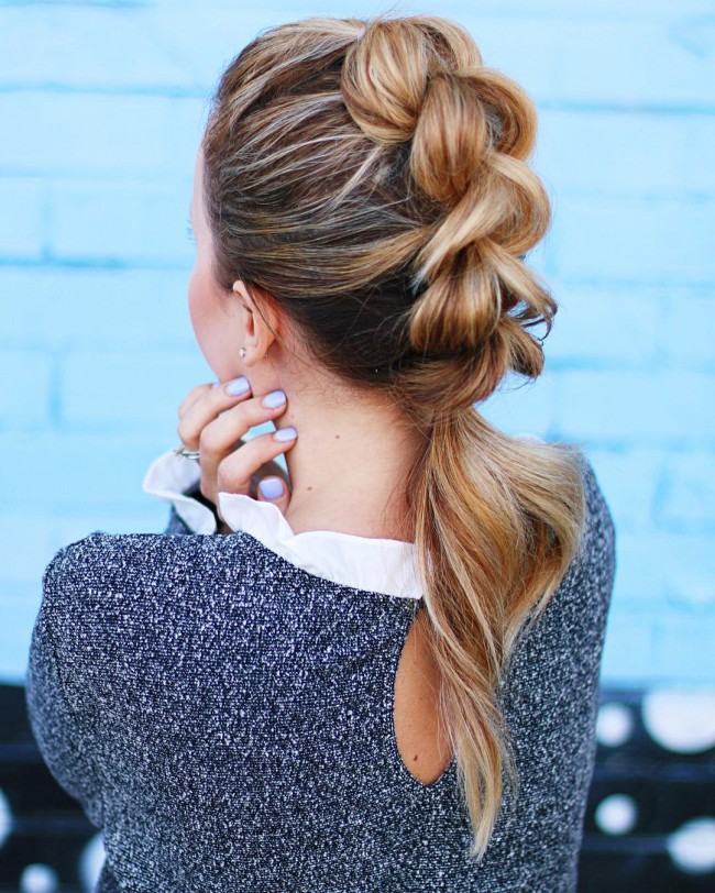 Funky Middle Line Braid