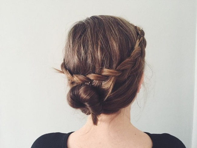 Graceful Braid Crown