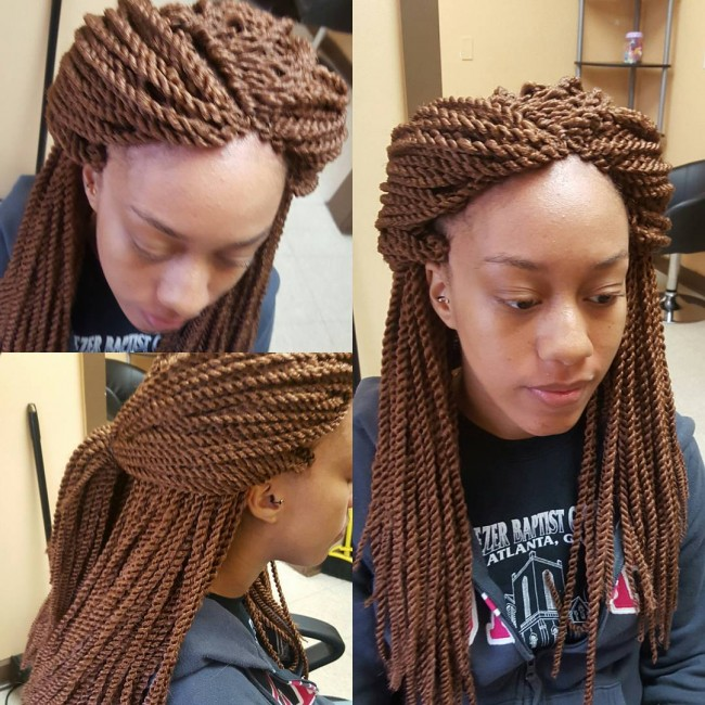 55 Dazzling Senegalese Twist Styles — Best for Natural Hair