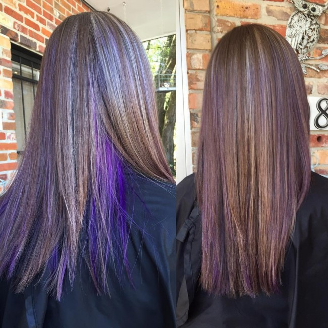 55 Lustrous Purple Hair Color Ideas Feel Like A Queen