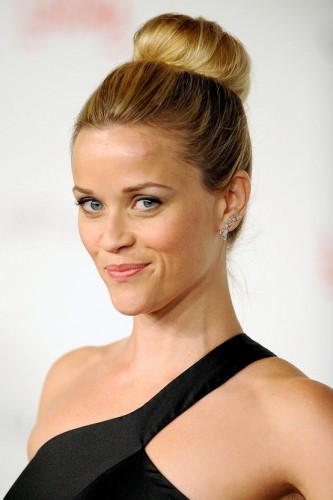 Reese Witherspoon High Ballerina Bun