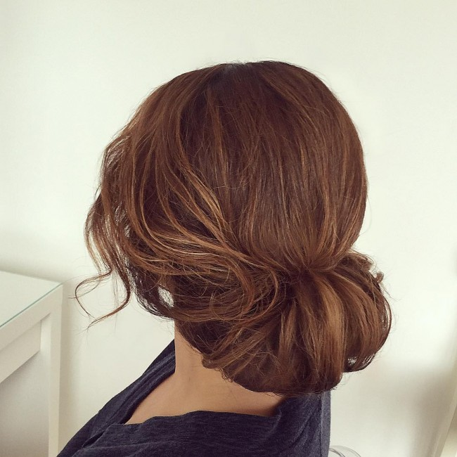 Simple Tucked Updo