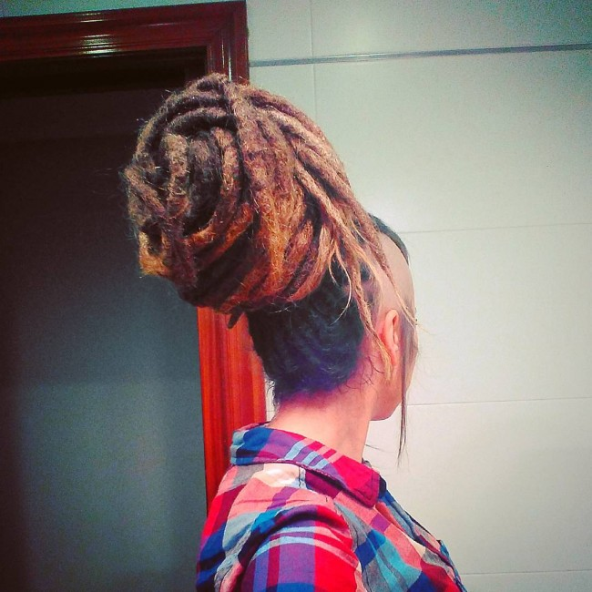 Sophisticated Dreadlock Cut