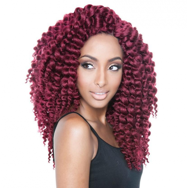 Stunning Red Ombre Twists