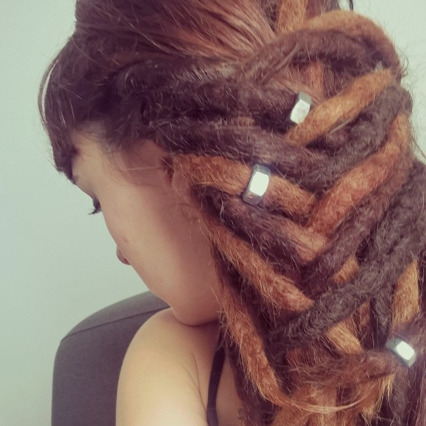 Thick Braided Color Matrix