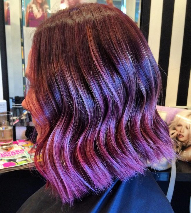 Adorable Balayage Ombre Waves