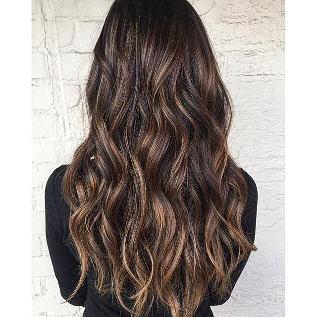 Adorable Chocolate Caramel Waves