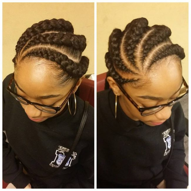 Adorable Ghanaian Plaits