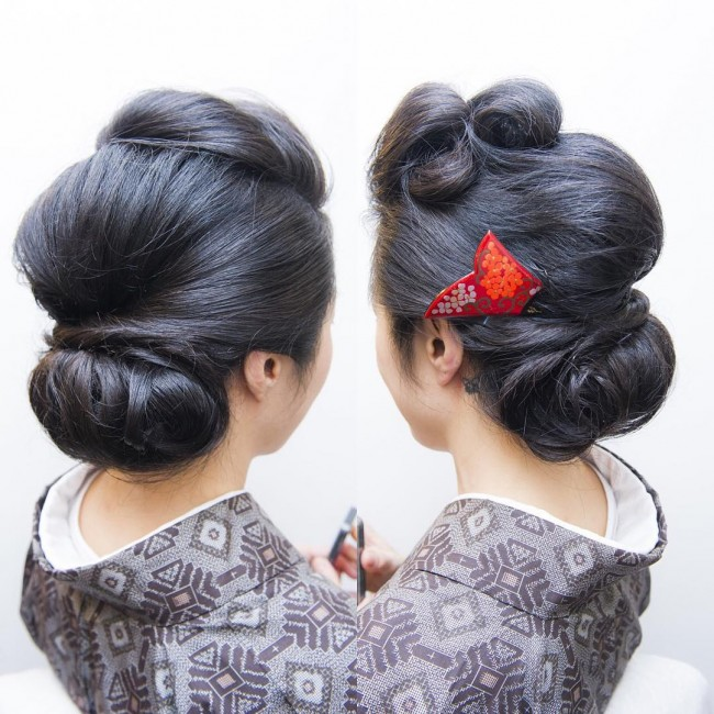 Asian Victory Rolls