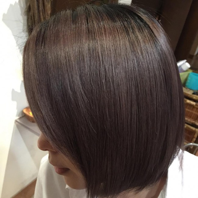 Asymmetrical Bob with a Perfect Shade