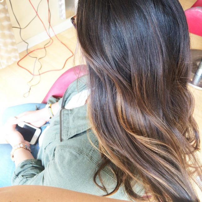 Attractive Subtle Balayage