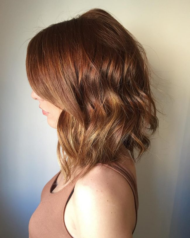 Auburn Ombre for a Red Head