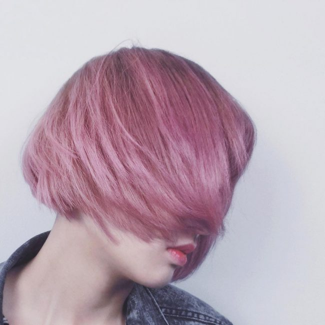 Bleached Pink Bob