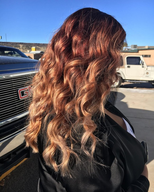 Blended Balayage Ombre