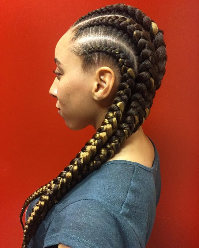Box Braids for a Goddess