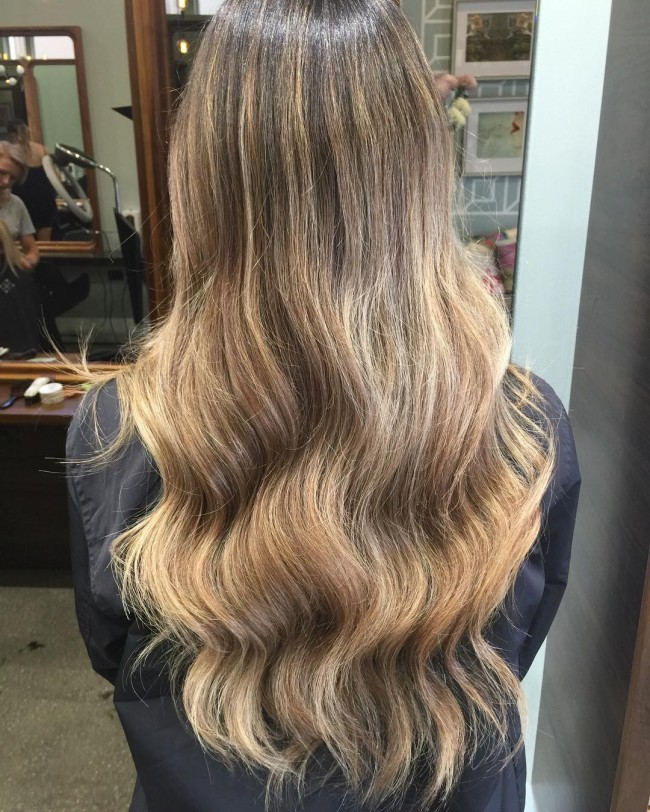 Brunette and Bronde Blend