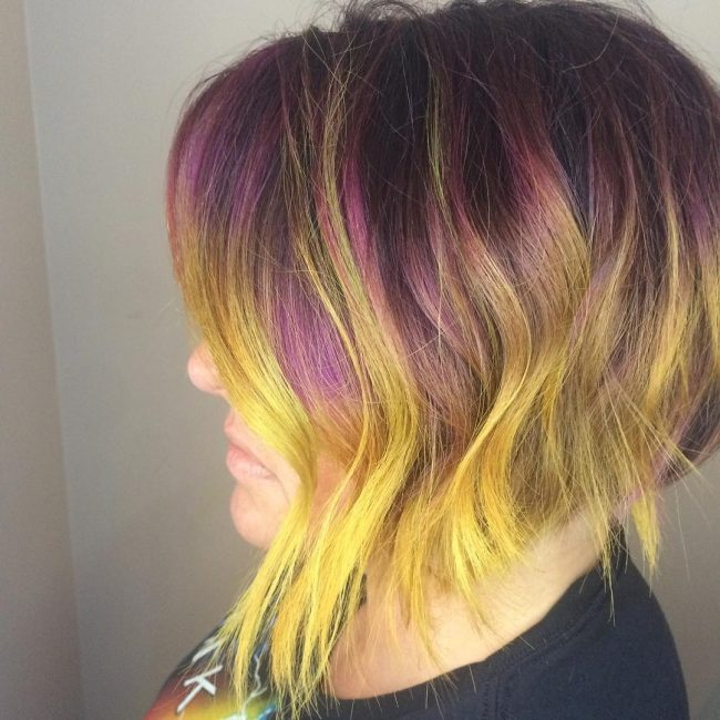 Charming Rainbow Color Melt