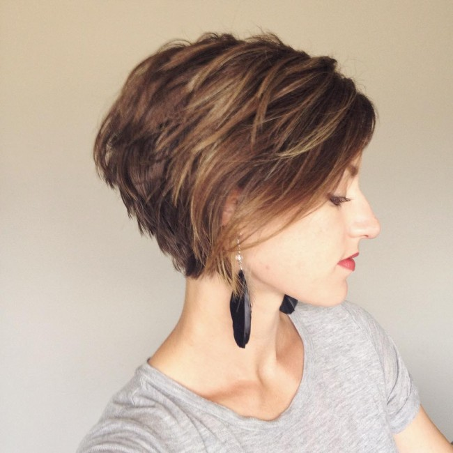 Classy Tapered Pixie