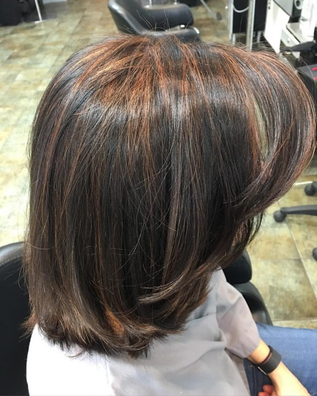Copper and Caramel Streaks