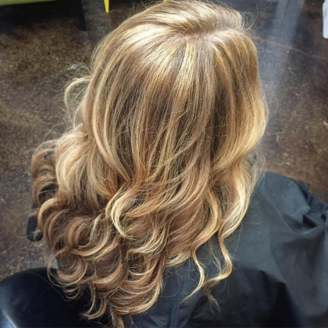 Curly Fawn Blonde