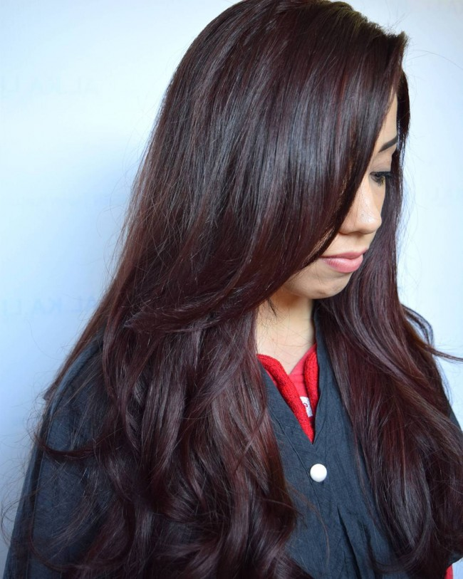 Dimensional Red Brown Tone