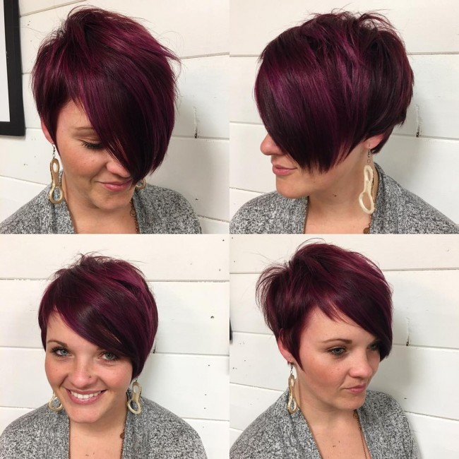 Double Combo Style with Bangs