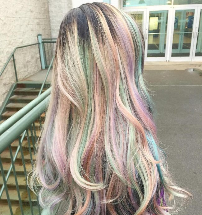 Dreamy Ombre Pastels