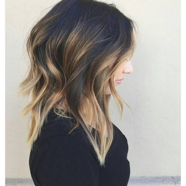 Edgy Ombre Lob
