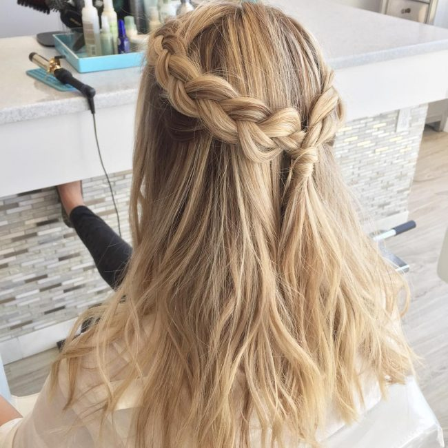 Effortless Braided Beach Waves