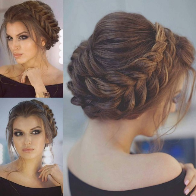 Elegant Braided Crown