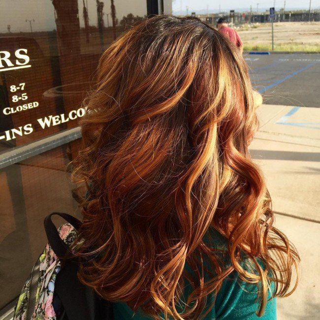 Fabulous Balayage Highlights