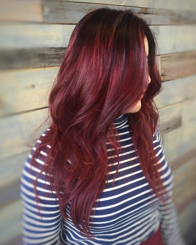 60 Refined Dark Auburn Hair Colors Designs Tempting Shades And