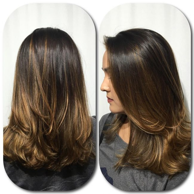 Flawless Caramel Ombre