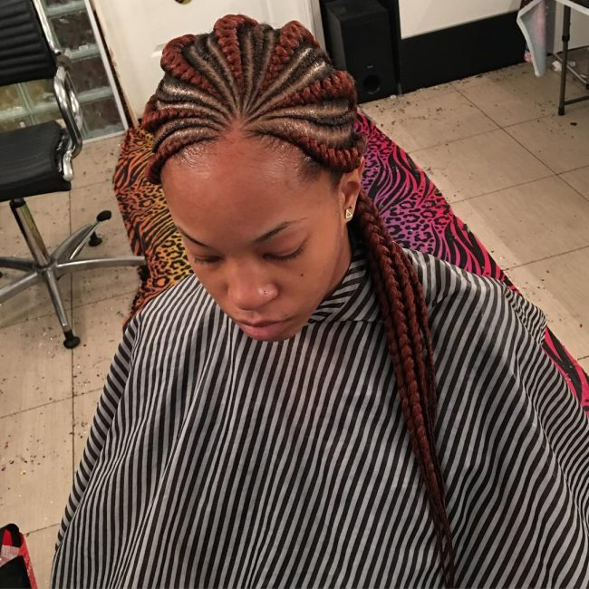 Flawless Ghanaian Plaits