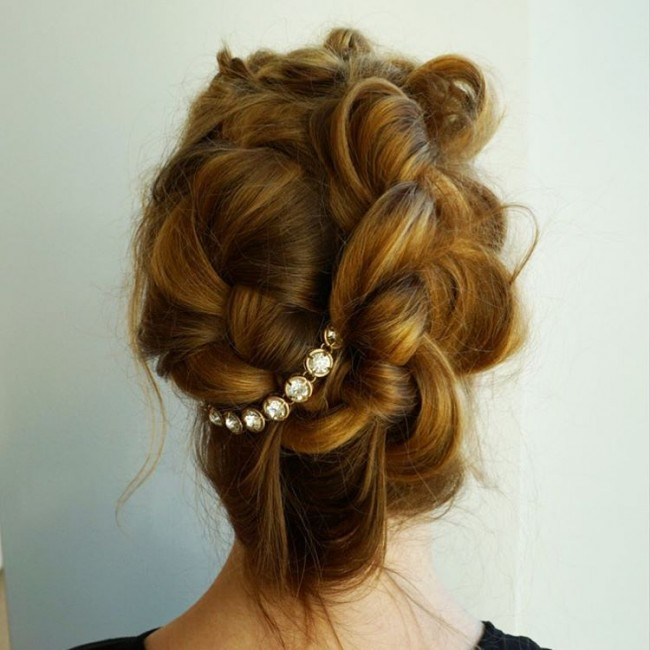 Glamorous and Flawless Updo
