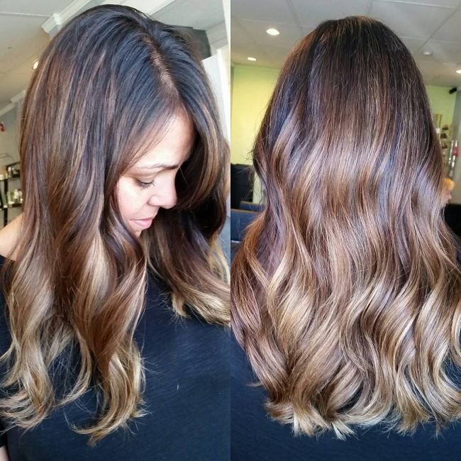 Glowing Tawny Highlights