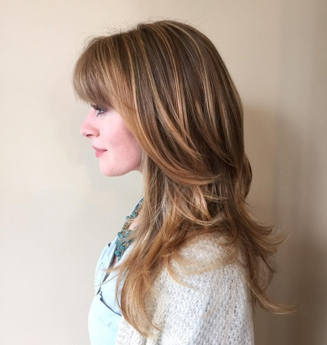 Gorgeous Honey-Toned Balayage