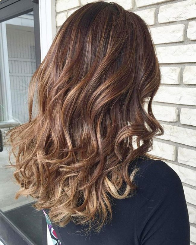 Gorgeous Sombre Chocolate Brown