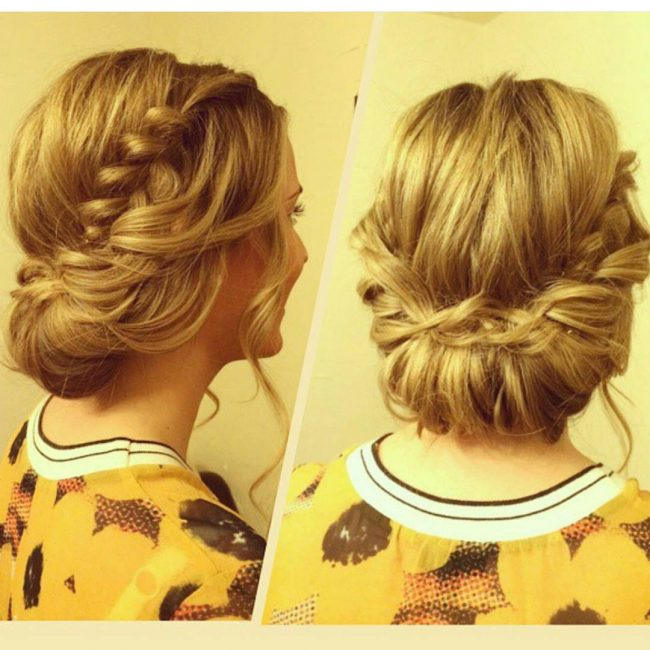 Gorgeous Tucked-In Low Chignon